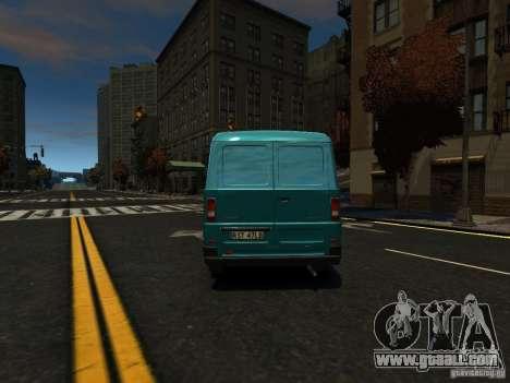 Daewoo Lublin 3 2000 for GTA 4 back view