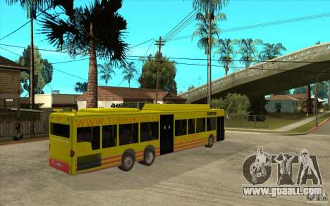 Mercedes Benz Citaro L for GTA San Andreas right view