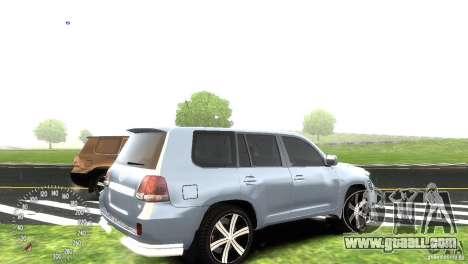 Toyota Land Cruiser 200 RESTALE for GTA 4 back view