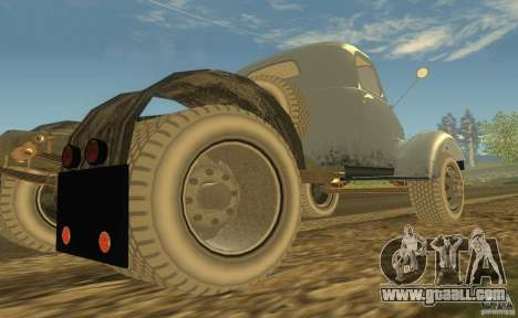 ZIL 164 Tractor for GTA San Andreas back view