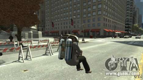 Jetpack for GTA 4 right view