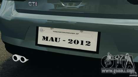 Volkswagen Golf Sportline 2011 for GTA 4 engine