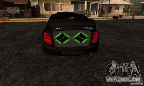 Lada Granta Dag Style for GTA San Andreas right view