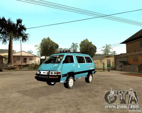 Toyota Town Ace for GTA San Andreas right view