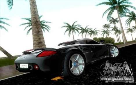 Porsche Carrera GT for GTA Vice City right view