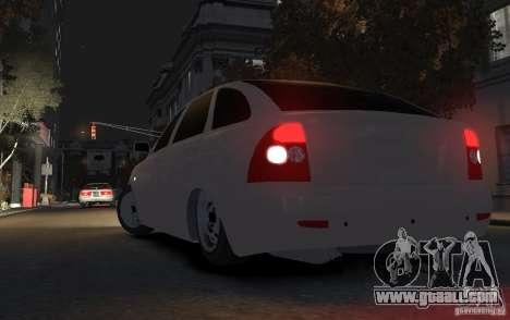 VAZ Lada Priora 2172 for GTA 4 back left view