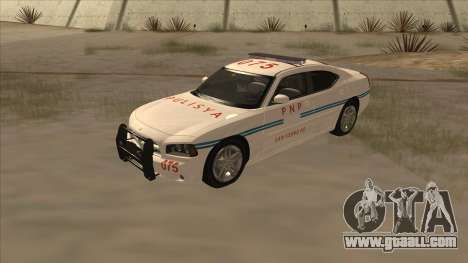 Dodge Charger PNP SAN FIERRO for GTA San Andreas