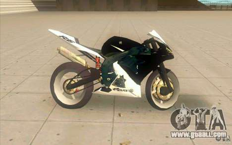 Yamaha Copbike Beta for GTA San Andreas left view