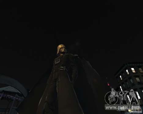 Dart Vader for GTA 4 third screenshot
