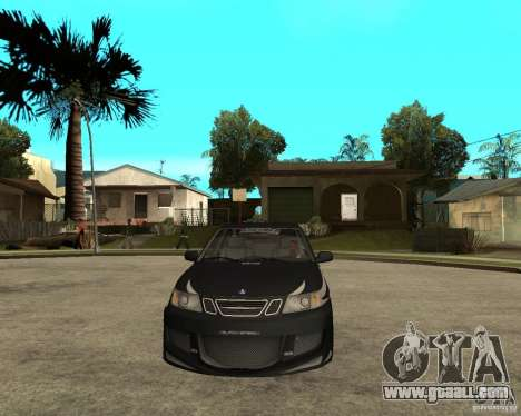 Saab 9-3 from GM Rally Version 1 for GTA San Andreas back view