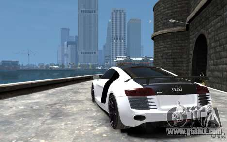Audi R8 2008 Beta for GTA 4 back left view