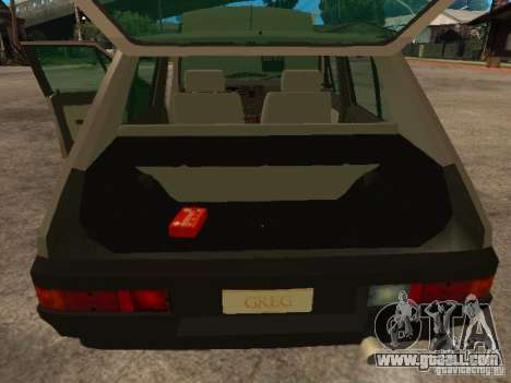 Fiat Ritmo for GTA San Andreas side view
