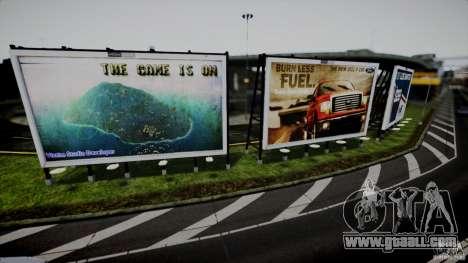 Realistic Airport Billboard for GTA 4
