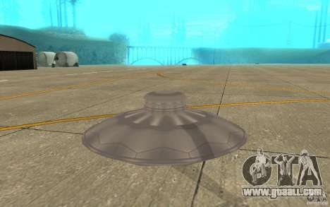 UFO Atack for GTA San Andreas right view