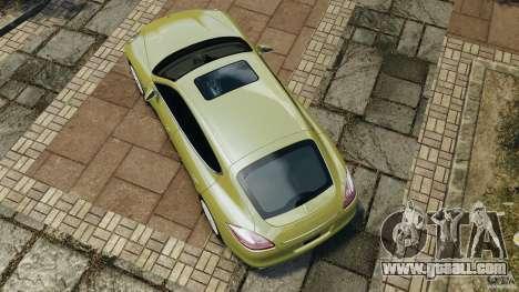 Porsche Panamera Turbo 2010 for GTA 4 right view