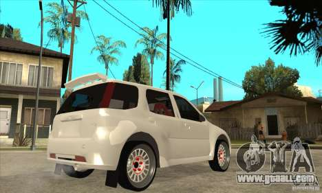 Suzuki Ignis Rally for GTA San Andreas right view