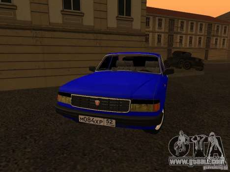 Volga GAZ 31029 for GTA San Andreas right view