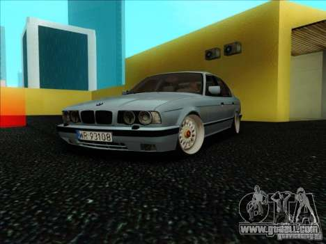 BMW 5 series E34 for GTA San Andreas