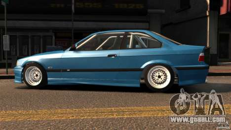BMW M3 E36 FSC for GTA 4 left view