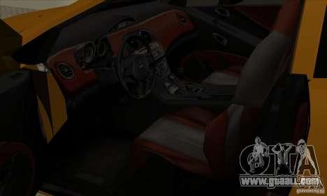 Mitsubishi Eclipse GT for GTA San Andreas back view
