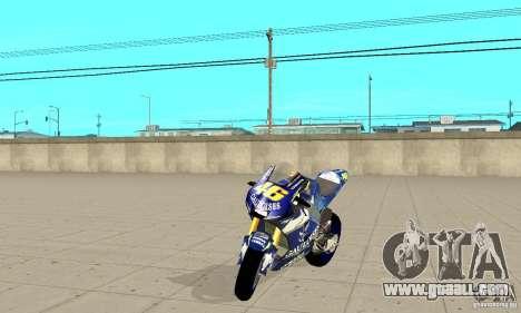 Honda Valentino Rossi Fcr900 for GTA San Andreas