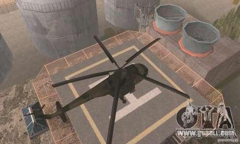 MI-17 for GTA San Andreas right view
