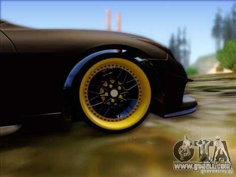 Infiniti G37 HellaFlush for GTA San Andreas back view