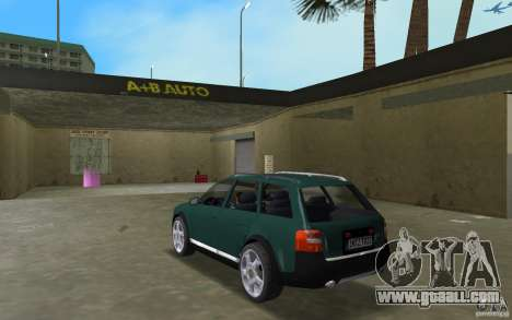 Audi Allroad Quattro for GTA Vice City