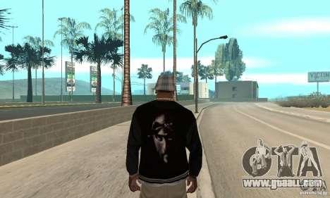 Jacke skin for GTA San Andreas second screenshot