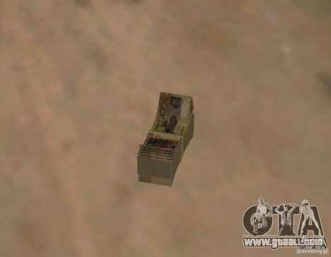 Kazakh money for GTA San Andreas second screenshot
