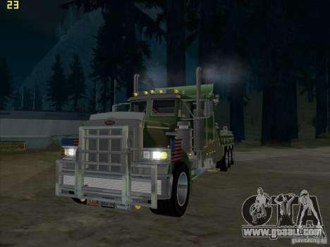 Peterbilt 379 Wrecker for GTA San Andreas