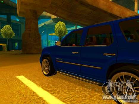 Cadillac Escalade for GTA San Andreas left view