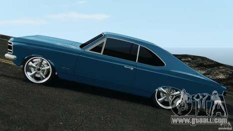Chevrolet Opala Gran Luxo for GTA 4 left view