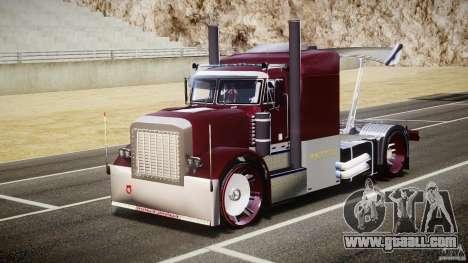 Peterbilt Sport Truck Custom for GTA 4 back view
