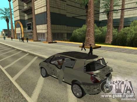 Renault Avantime for GTA San Andreas back view