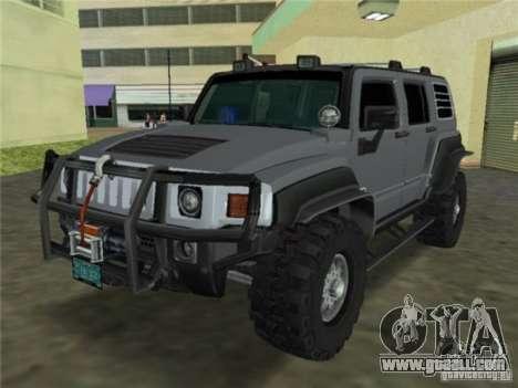 Hummer H3 SUV FBI for GTA Vice City