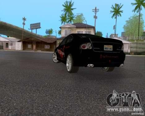 Vauxhall Monaco VX-R for GTA San Andreas bottom view