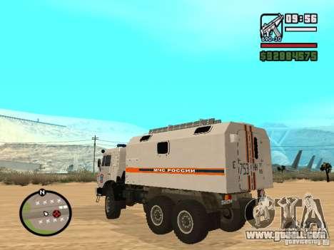 Kamaz MOE for GTA San Andreas