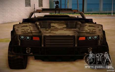 SOC-T from BO2 for GTA San Andreas back left view