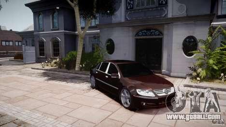 Volkswagen Phaeton W12 Long for GTA 4