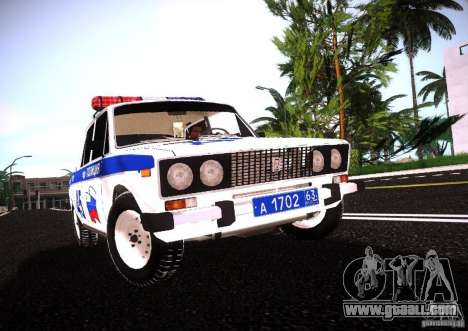 VAZ 2106 Police v 2.0 for GTA San Andreas