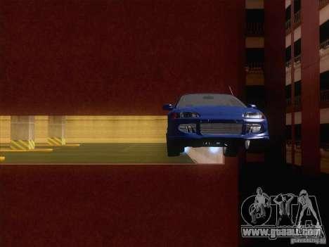 Honda Civic IV GTI for GTA San Andreas inner view