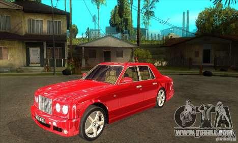 Bentley Arnage T for GTA San Andreas