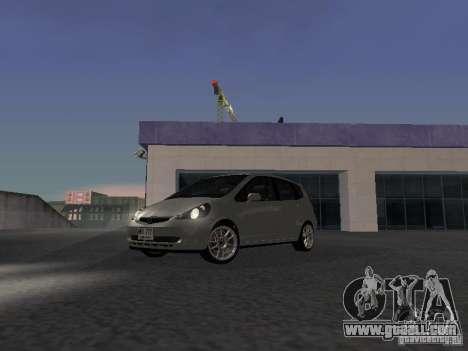 Honda Fit for GTA San Andreas left view