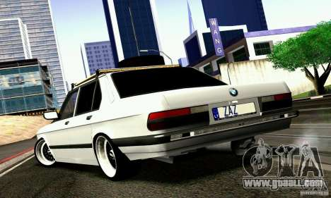 BMW E28 525e RatStyle No1 for GTA San Andreas right view