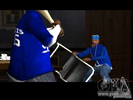 Piru Street Crips for GTA San Andreas forth screenshot