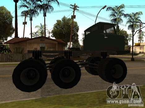 GAZ 66 Saiga for GTA San Andreas back left view