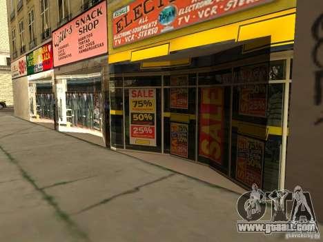 New textures downtown Los Santos for GTA San Andreas third screenshot