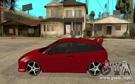 Ford Focus Coupe Tuning for GTA San Andreas left view