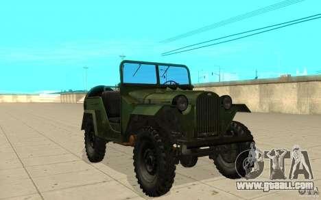 Gaz-67 for GTA San Andreas